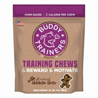 Buddy Trainers Training Chew with Chicken Liver, 7 Oz