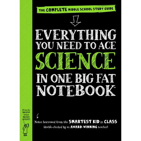 Big Fat Notebooks  Everything You Need To Ace Science In One Big Fat Notebook  The Complete Middle School Study Guide  Paperback