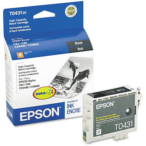 Epson T043120 Black High-Capacity Ink Cartridge