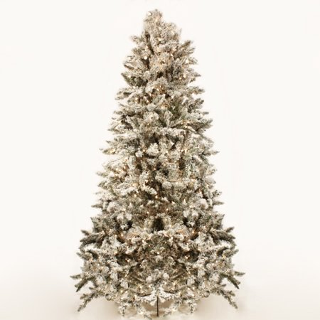 7.5 Ft Flocked Cascade Tree ()
