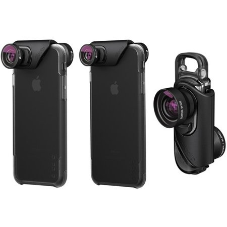 brand new f9335 1cb84 Olloclip Core Lens Set with Case for iPhone 8/7 and 8/7 Plus ...