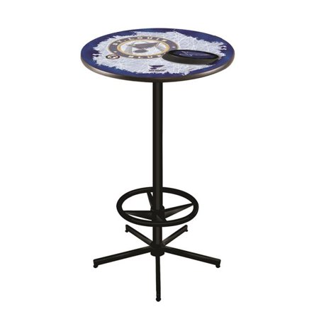 Holland Bar Stool L216B4236STLBlu 42 in. St Louis Blues Pub Table with 36 in. Top, Black - image 1 de 1