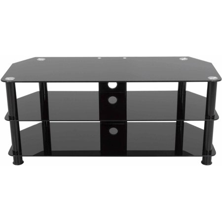 AVF TV Stand with Cable Management for up to 55″ TVs, Multiple Colors