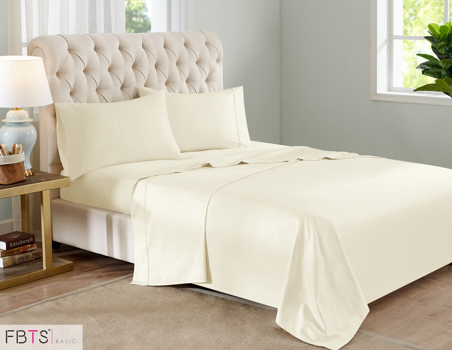 800 thread count sheets. Sheet Sets (King, Beige) 800 Thread Count Like Cotton Rich Blend Hotel Quality Luxury Bedding With 18\u201d Deep Pockets 4 Piece Breathable Super Soft Bed Sheets