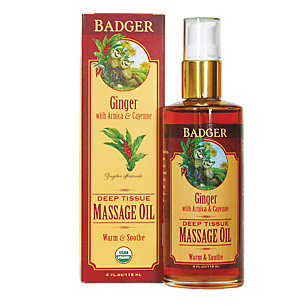 Deep Tissue Massage Oil With Arnica
