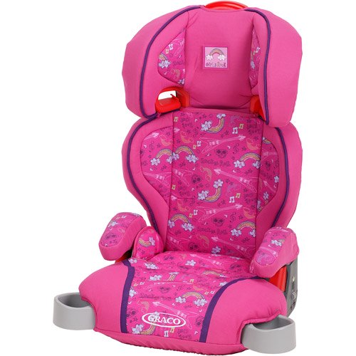 Graco Highback TurboBooster Car Seat, Girls Rock - Walmart.com