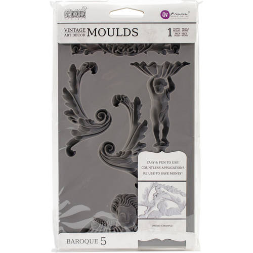 Iron Orchid Designs Vintage Art Decor Mould by Prima Marketing