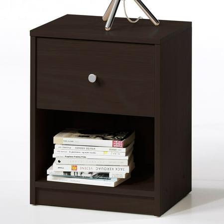 studio nightstand set of 2 coffee. Black Bedroom Furniture Sets. Home Design Ideas