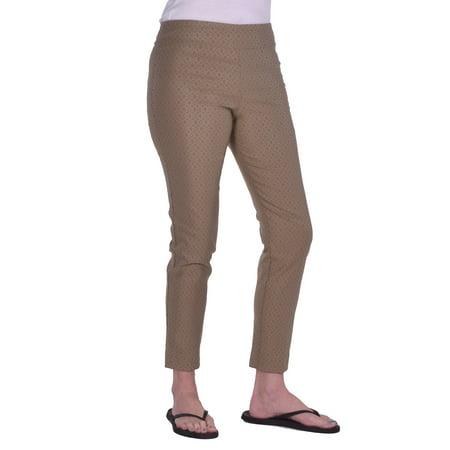 5ca8fe08d73 Krazy Larry Women s Pull On Ankle Pant - Walmart.com