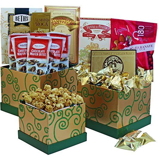 Sweet Success Cookie, Candy and Snacks Gift Tower