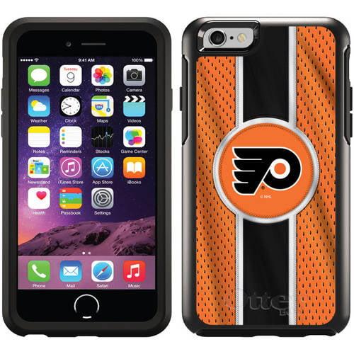 Philadelphia Flyers Jersey Stripe Design on OtterBox Symmetry Series Case for Apple iPhone 6