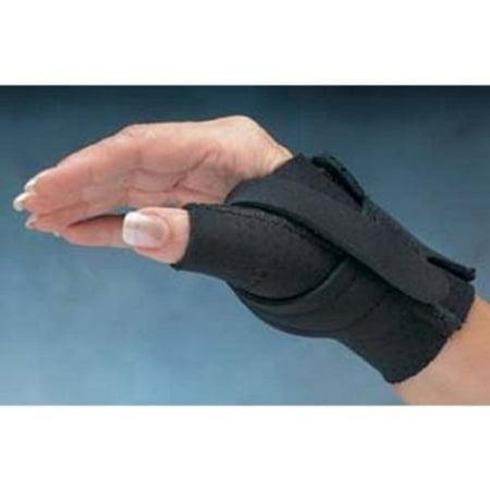 north coast medical comfort cool thumb cmc restriction splint - left, medium - model nc79564 - each