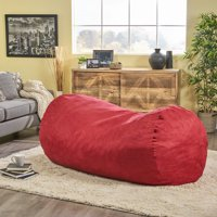 Prime Solid Print Adult Teen Bean Bag Chairs Walmart Com Gmtry Best Dining Table And Chair Ideas Images Gmtryco