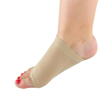 Arch Support Sleeve Set 2Pcs Plantar Fasciitis Arch Sleeves Wrap Shoe Insert with Comfort Gel Cushions for Flat Foot and Plantar Fasciitis Pain