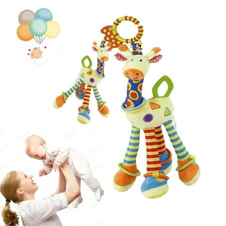 Infant Baby Baby Wrap Around Crib Rail Or Stroller Toy Stroller Toy