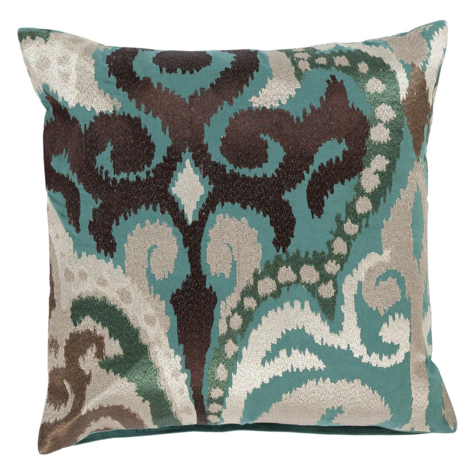 Surya Radiant Swirl Decorative Throw Pillow