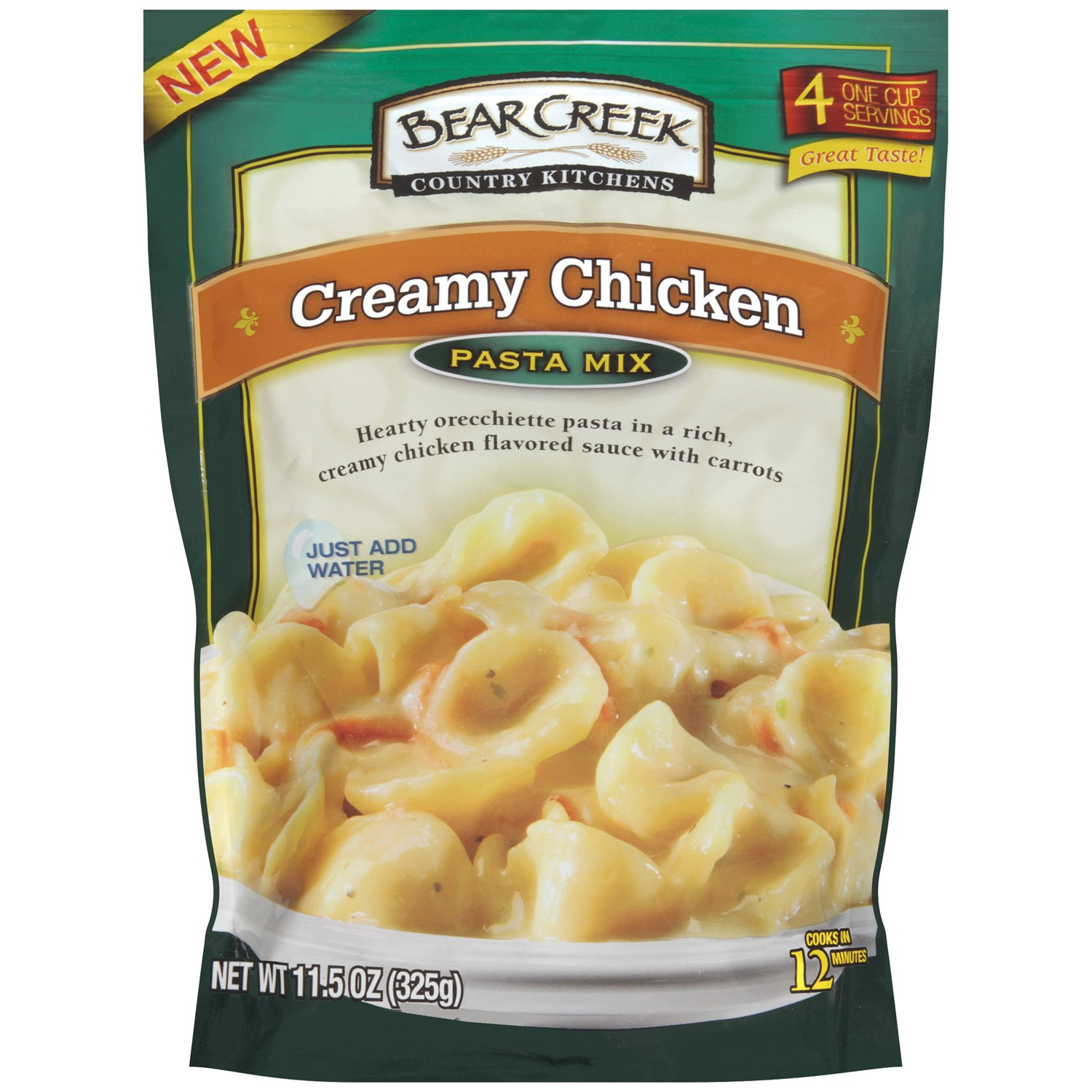Bear Creek Pasta Mix, Creamy Chicken, 11.5 Oz