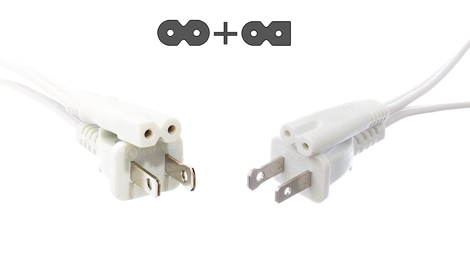 USB replacement end cable end 2 PACK