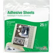"3L Permanent Adhesive Sheets, 12"" x 12"", 25pk"