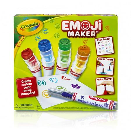 Crayola Emoji Marker Maker  6   Gift