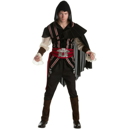 Assassins Creed Ezio Men's Adult Halloween - Assassin Creed Costumes