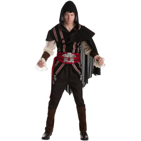 Assassins Creed Ezio Men's Adult Halloween Costume (Assassini Halloween)