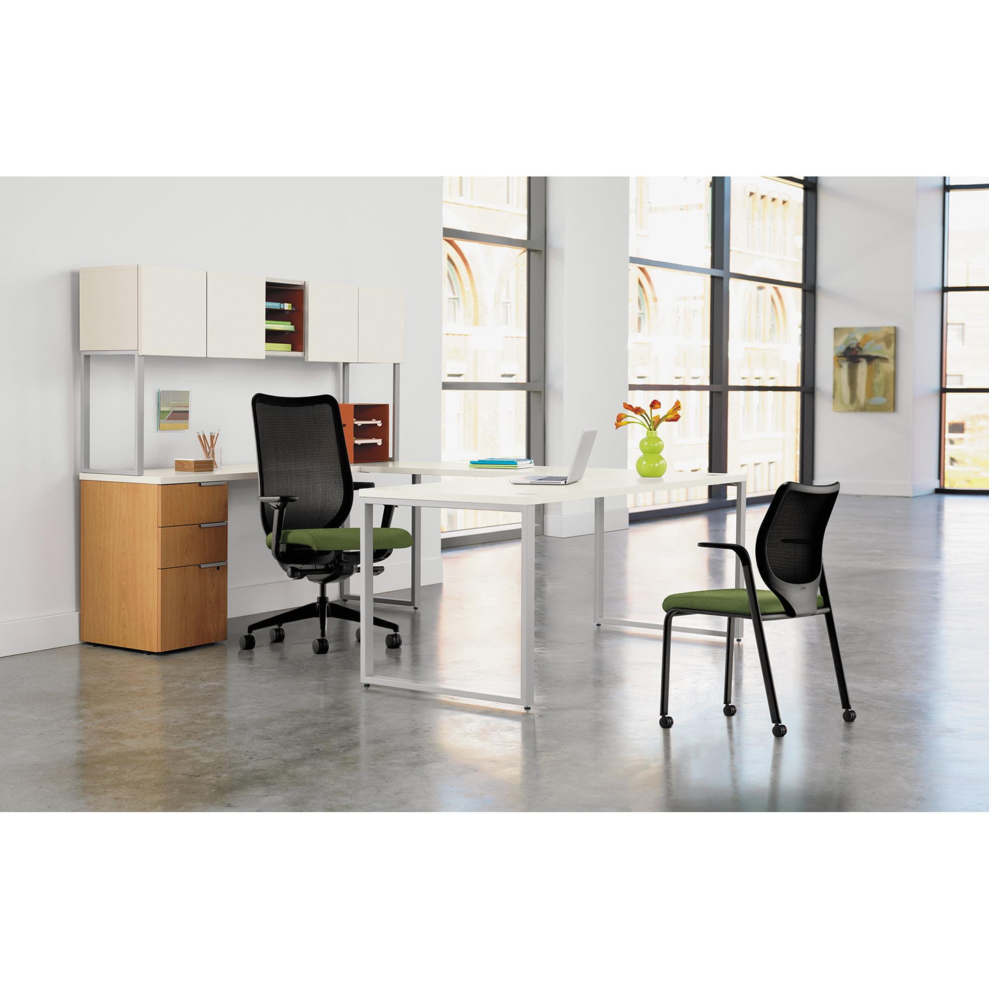 Hon Nucleus Series Multipurpose Chair, Black Ilira-Stretch M4 Back