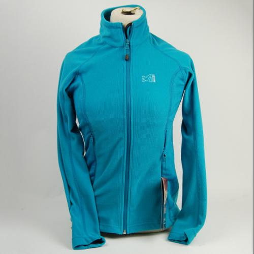 Millet LD Hiking Grid Fleece Jacket Women's X-Small Lake Blue
