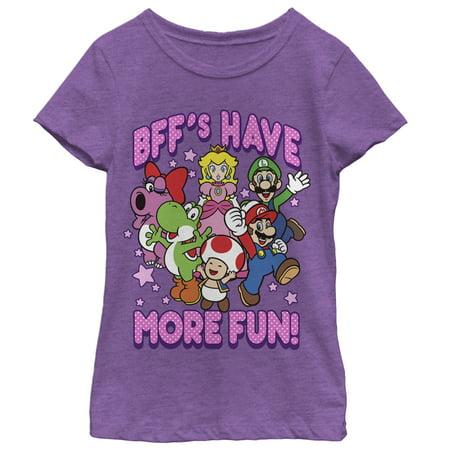 Nintendo Girls' Best Friends Have More Fun