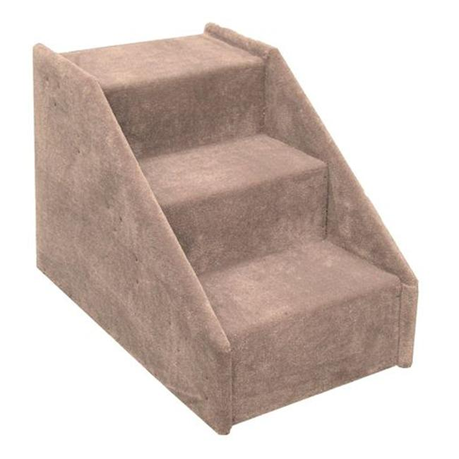 Essential Pet Products DOGSTAIRSBE Big Dog 3 Step Pet Stairs - Beige