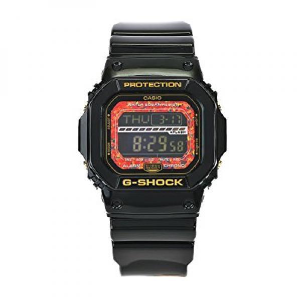 casio men's gls5600kl-1 g-shock black digital dial chronograph watch
