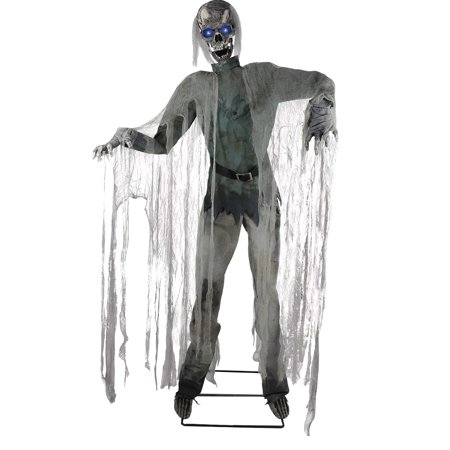 Happy Halloween Ecards Animated (72in. Twitching Ghoul Animated Prop Halloween)