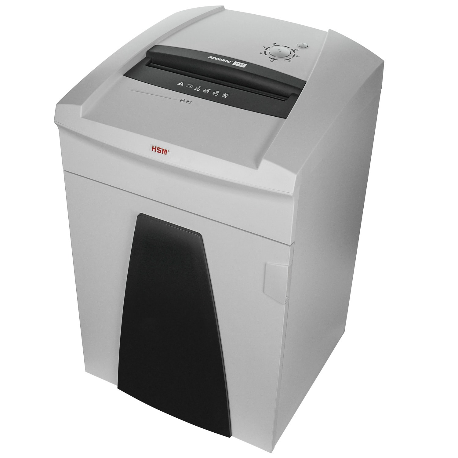 HSM SECURIO P36 High Security Level 6 Optical Media Shredder HSM1854M