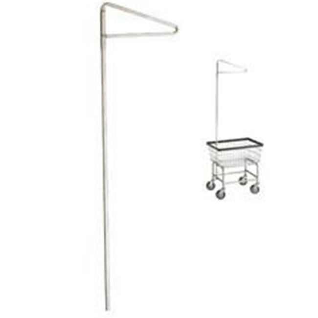 R&B Wire 91 17. 25 inch Laundry Cart Single Pole Garment Rack