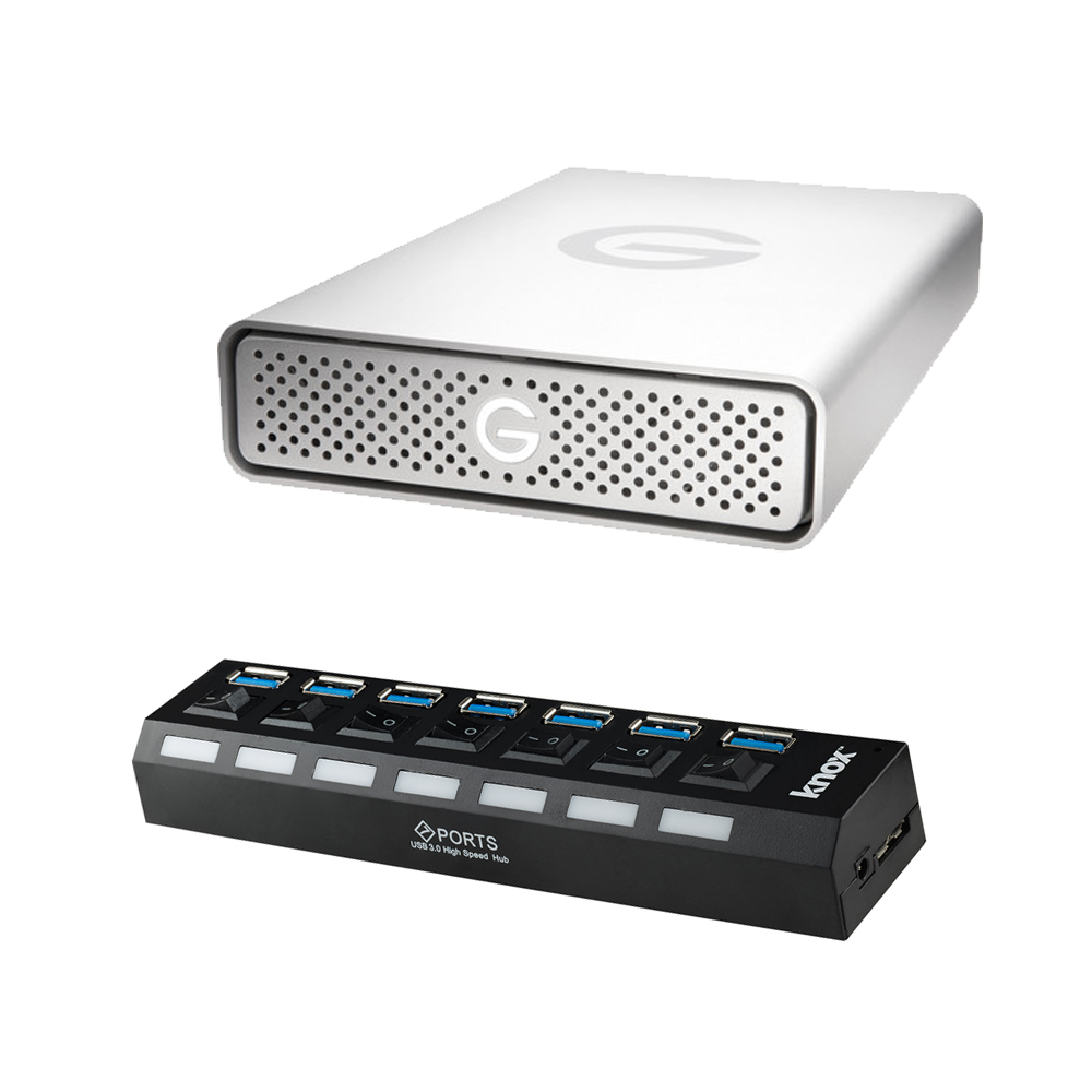 G-Technology GDrive 4TB Professional Strength External Ha...