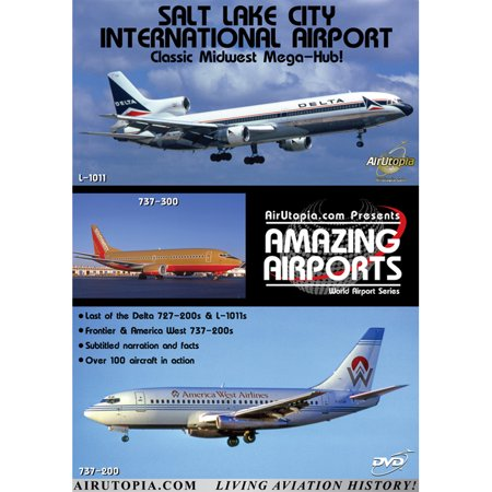 800 Delta Airlines (Salt Lake City Airport Delta Airlines Mega-Hub DVD)
