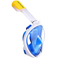 Product Image SeaView 180 Degree Panoramic Full Face Snorkel Mask for Kids & Adults - EasyBreathe Snorkeling Mask