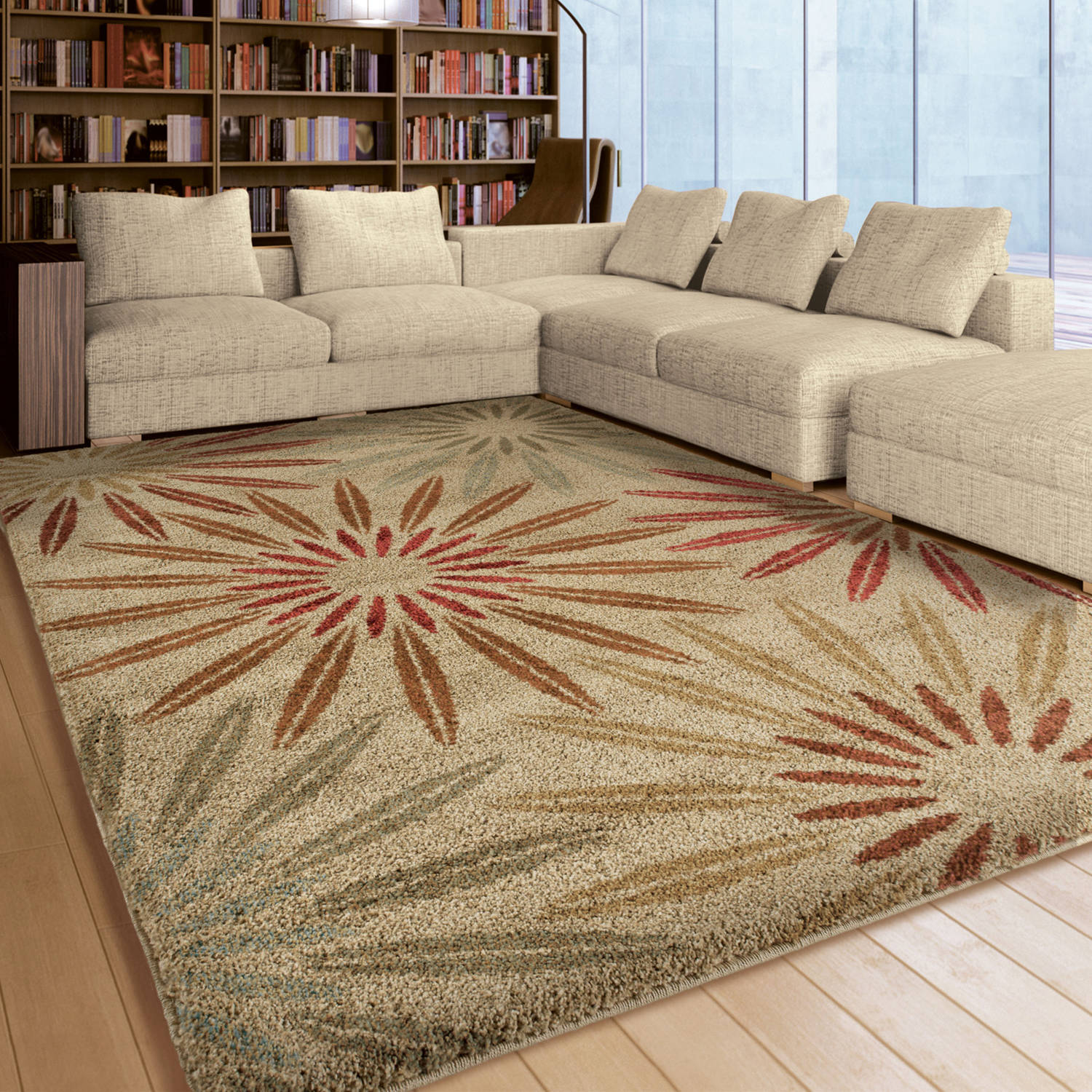 Orian Rugs Floral Anchorage Area Rug