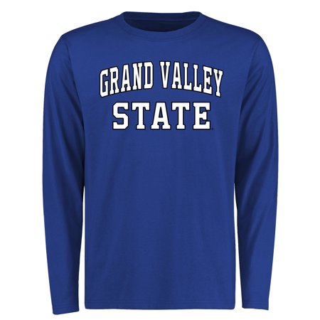 - Grand Valley State University Lakers Everyday Long Sleeve T-Shirt - Royal