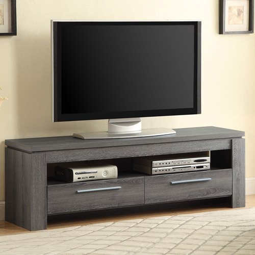Coaster Weathered Grey TV Console for TVs up to 46""