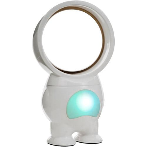 "TG 11"" Robo Bladeless Fan with Light, USB-Powered"