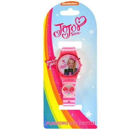 Icon Analogue Watch - Jojo Siwa Flashing Icon Watch on Card