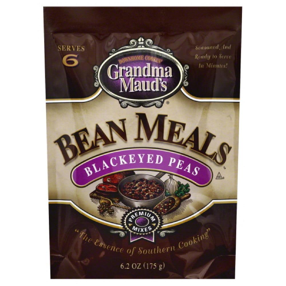 Grandma Mauds Bean Meals, Blackeyed Peas