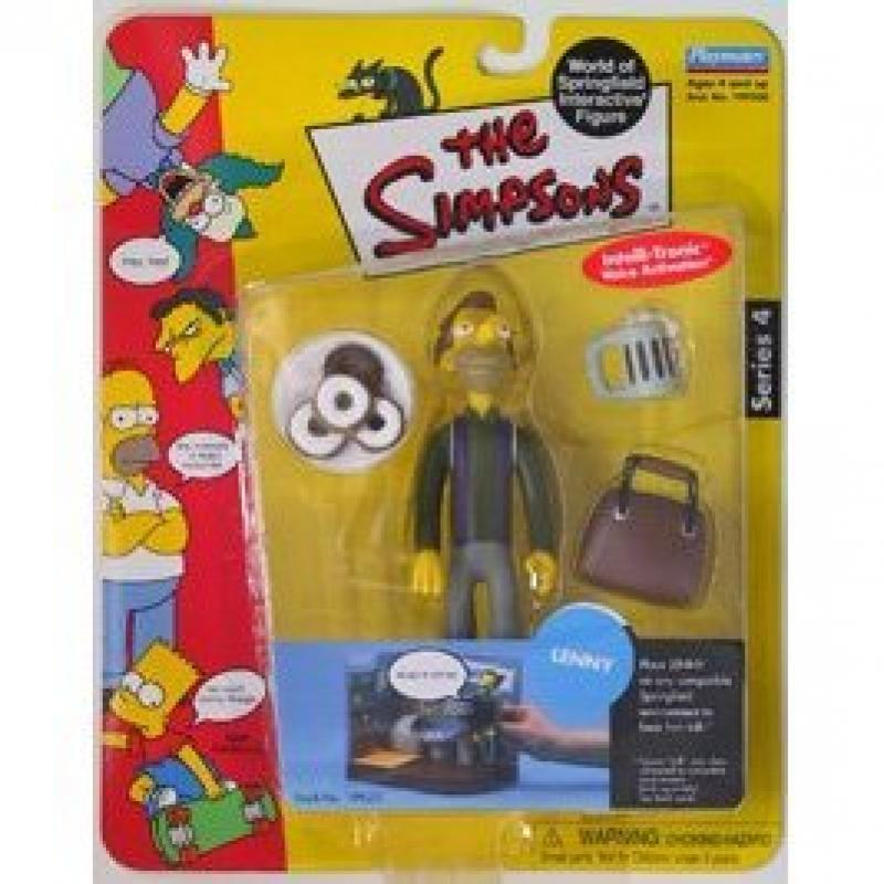 The Simpsons Series 4 Playmates Action Figure Lenny
