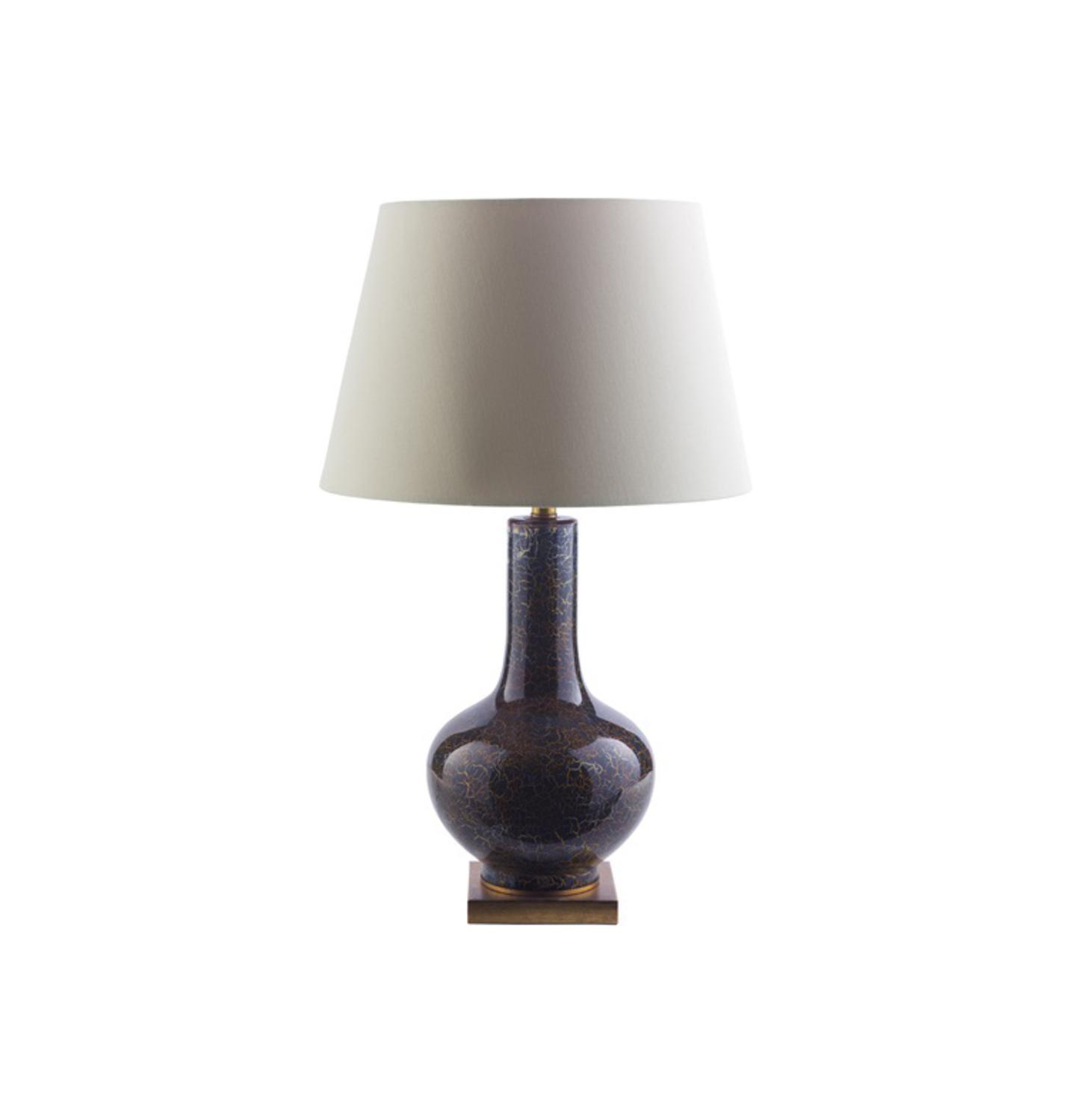 Ivory ceramic urn table lamp for Table lamps under 50