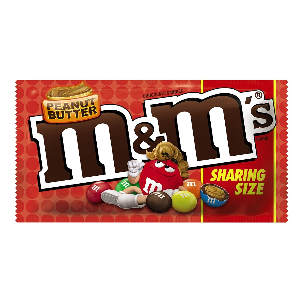 M&M'S Peanut Butter Chocolate Candy, 2.83 oz