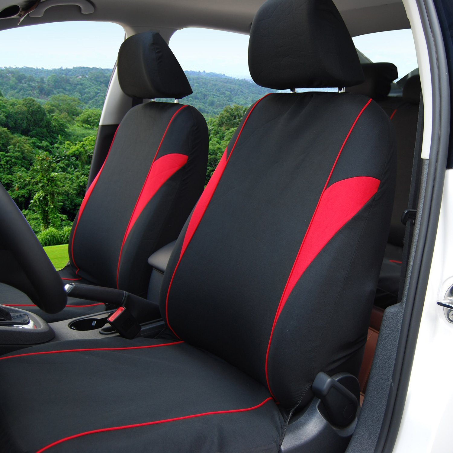 Adeco 9-Piece Car Vehicle Protective Seat Covers