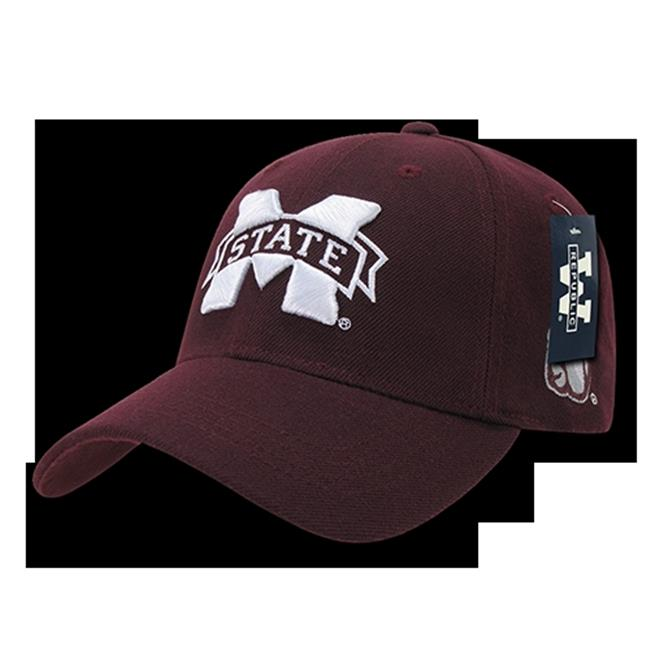 College Low Profile Constructed Mississippi State University, Maroon