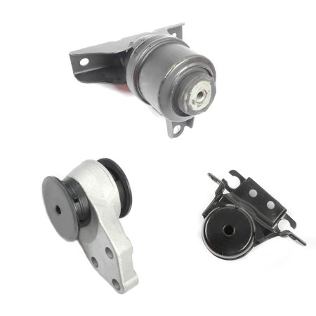 MaxBene Fits: 2001-2004 Ford Escape 2.0/3.0L Engine Motor & Trans. Mount Set 3PCS YL8Z-6068-AA, 3L8Z-6038-EA, 3L8Z-6038-EA, 3056, 3057, 3037 ()