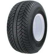 Greenball Greensaver Plus 18X8.50-8 4-Ply Rated Golf Cart Tire and 4-lug White Wheel